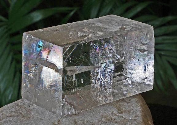 la calcite optique une pierre tendre facile à polir