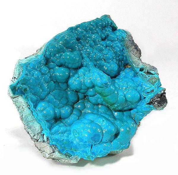 photo et propriétés de la pierre chrysocolle sur www.pierresdesante.com