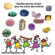 Quelles pierres choisir pour les soins des enfants