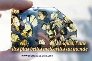 Esquel, l'une des plus belles météorites au monde
