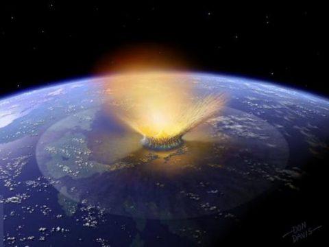 La météorite qui a exterminé les dinosaures aurait engendré une vague de 1,5 km de haut !