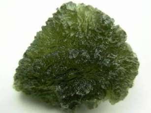 La moldavite, une tectite tombée du ciel